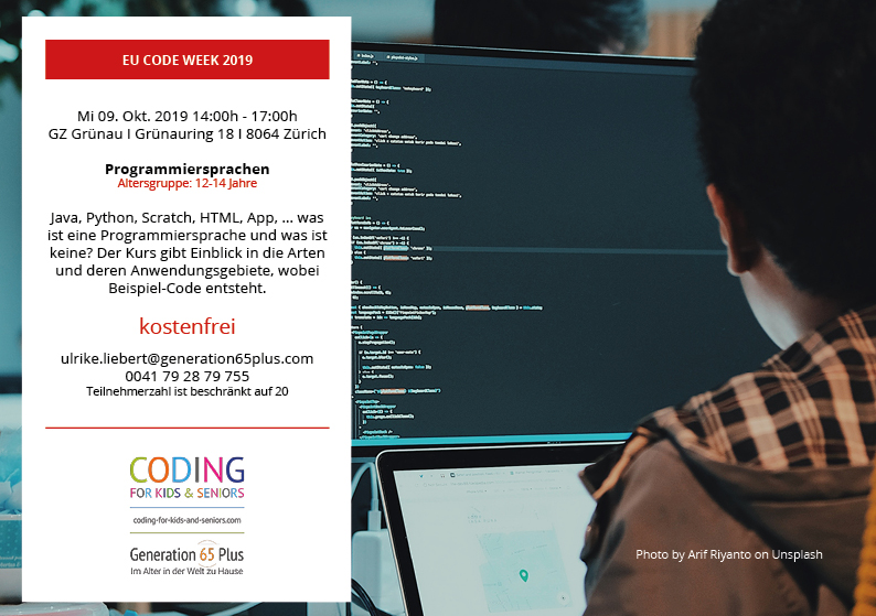 coding for kids and seniors